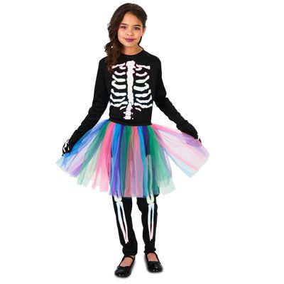 Skeleton Tutu Child Costume