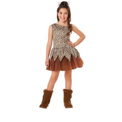 Cave Girl Child Costume