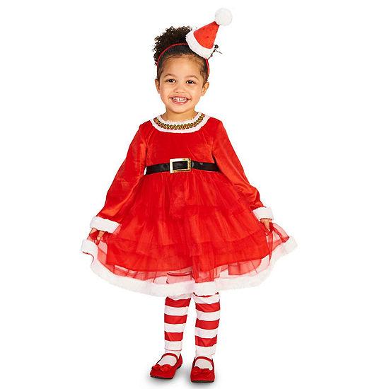 Christmas Diva Child Costume Girls Costume