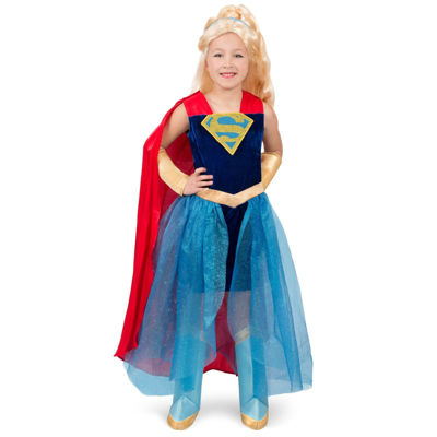 Supergirl 8-pc. Dress Up Costume Girls