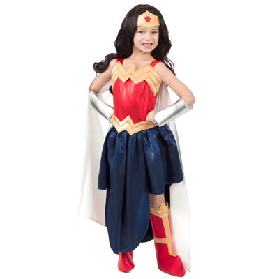 Wonder Woman 7-pc. Dress Up Costume Girls
