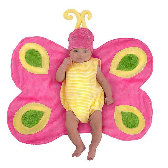 Swaddle Wings Beautiful Butterfly Caterpillar Newborn Costume - 0-3 Months