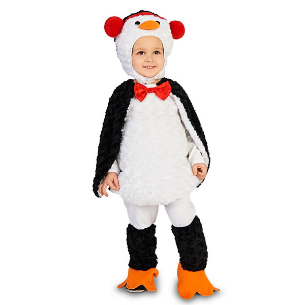 Cute Cuddly Penguin Toddler Costume 2-4T