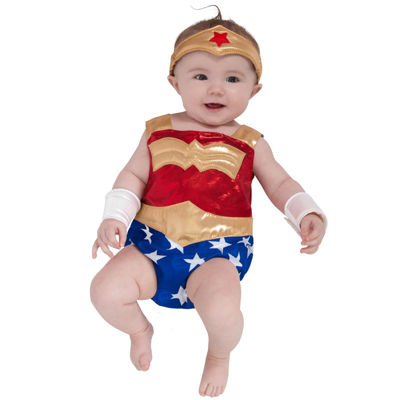 DC Comics - Wonder Woman Newborn Costume - 0-3M