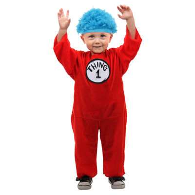Thing 1 & 2 Infant Unisex Costume with Hat