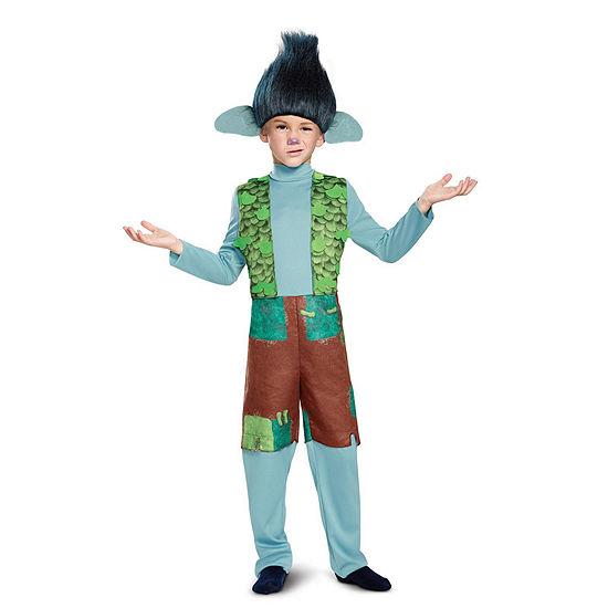 Trolls -  Branch Deluxe Child Costume w/Wig