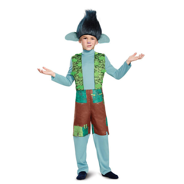 Trolls - Branch Deluxe Toddler Costume with Wig -3T-4T