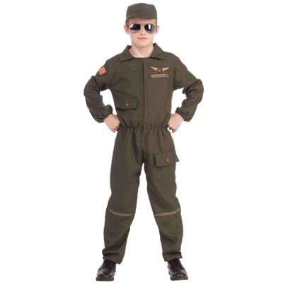 Fighter Jet Pilot Child Costume