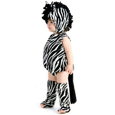 Zaney Zebra Toddler Costume