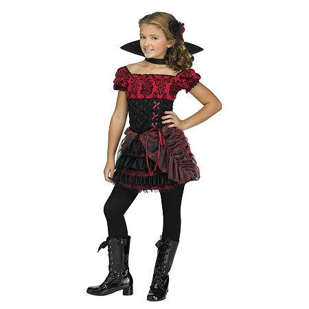La Vampira Child Costume Girls Costume Girls Costume, Medium , Black