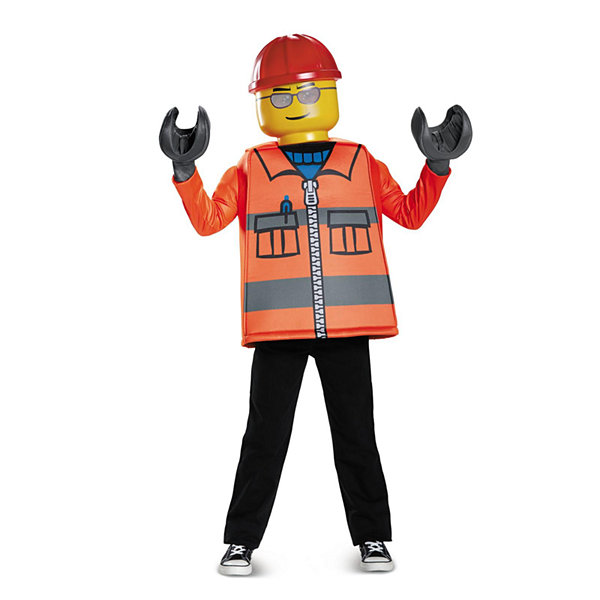 Lego Iconic - Construction Worker Classic Child Costume