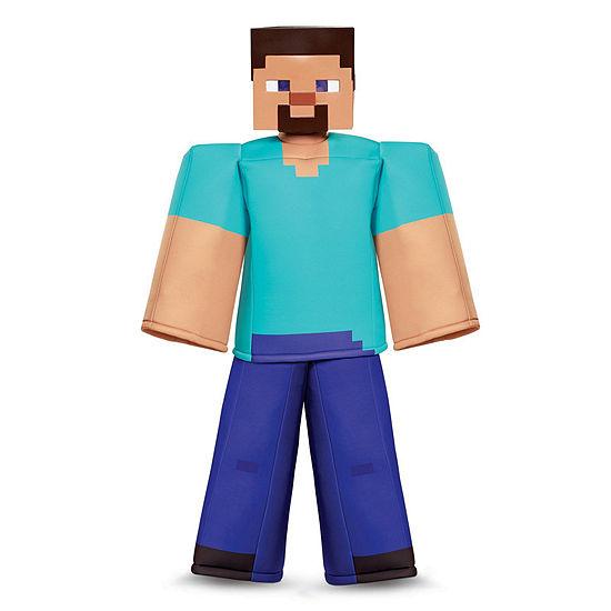 Minecraft Steve Prestige Child Costume