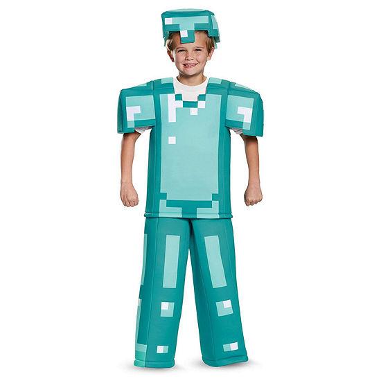 Minecraft Armor Prestige Child Costume Boys Costume