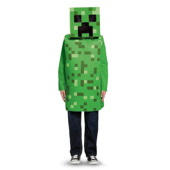 Minecraft Creeper Classic Child Costume