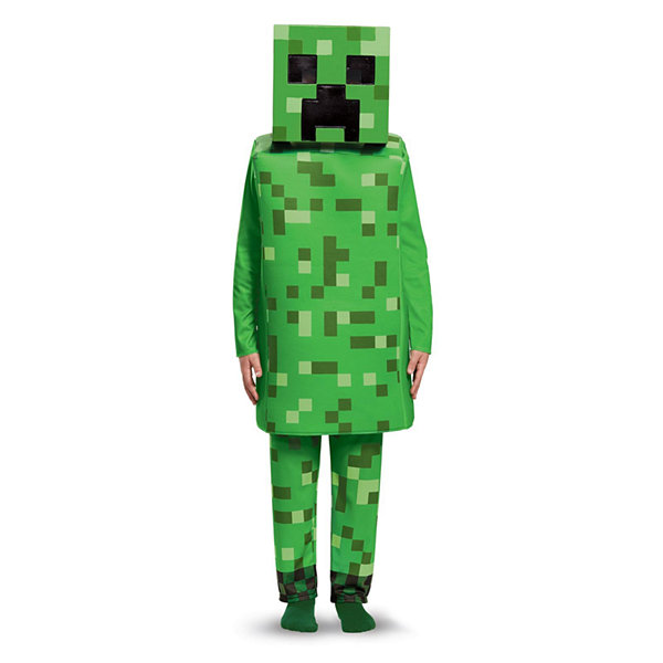 Minecraft Creeper Deluxe Child Costume