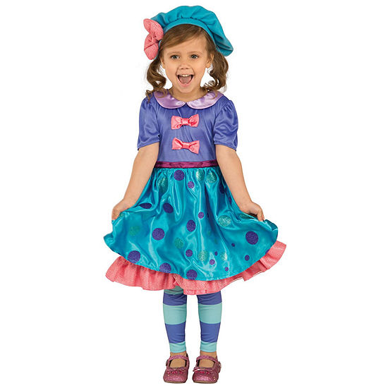 Little Charmers Lavendar Toddler Costume 3 4t
