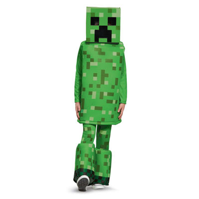 Minecraft Creeper Prestige Child Costume