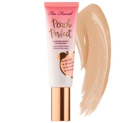 Too Faced Peach Perfect Comfort Matte Foundation – Peaches and Cream Collection