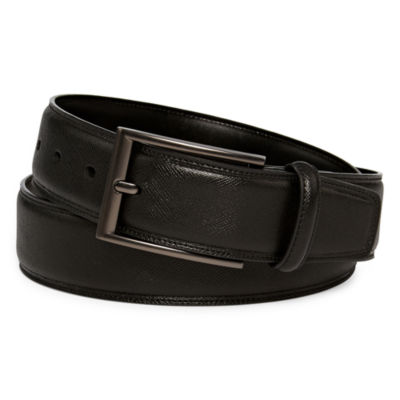 JF J.Ferrar® Saffiano Leather Belt