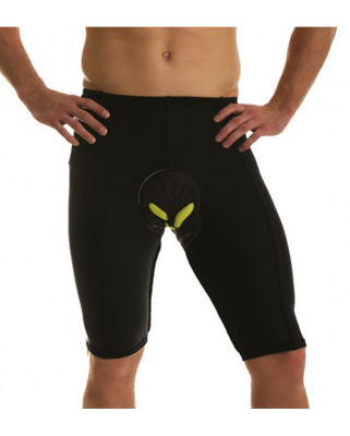 Insta Slim Men's Compression Padded Cycling Shorts
