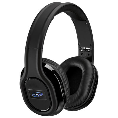 iLive Platinum IAHP87B Bluetooth Wireless Noise-Cancelling Headphones