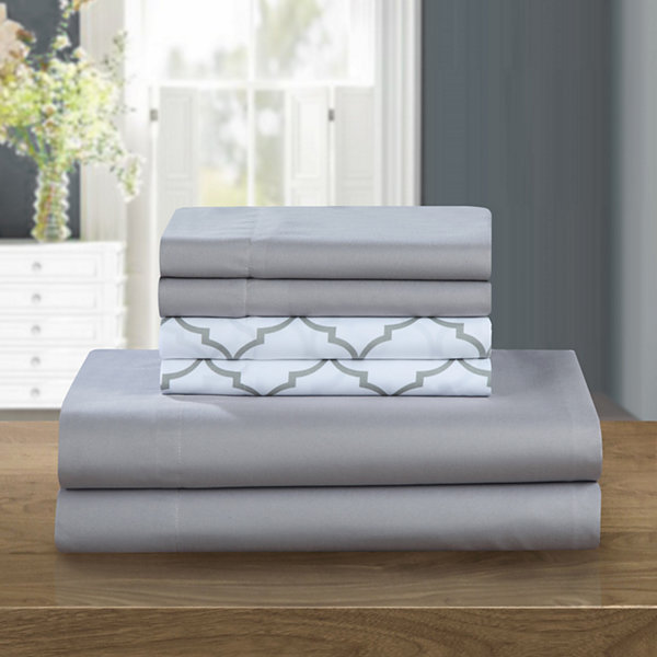 Chic Home Illusion Microfiber Sheet Set
