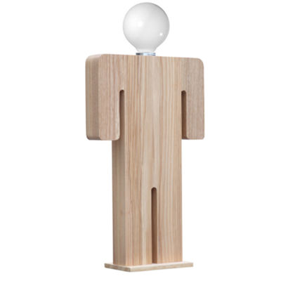 Table Wood Table Lamp