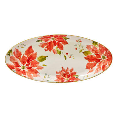 Certified International Home For The Holidays Serving Platter