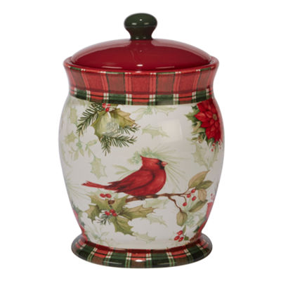 Certified International Winter Field Notes Cookie Jar