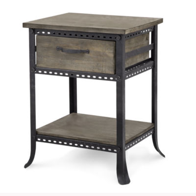 Madison Park Ryder End Table With Drawer