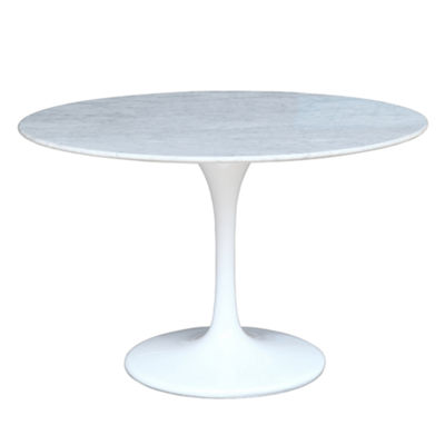Flower Marble-Top Dining Table