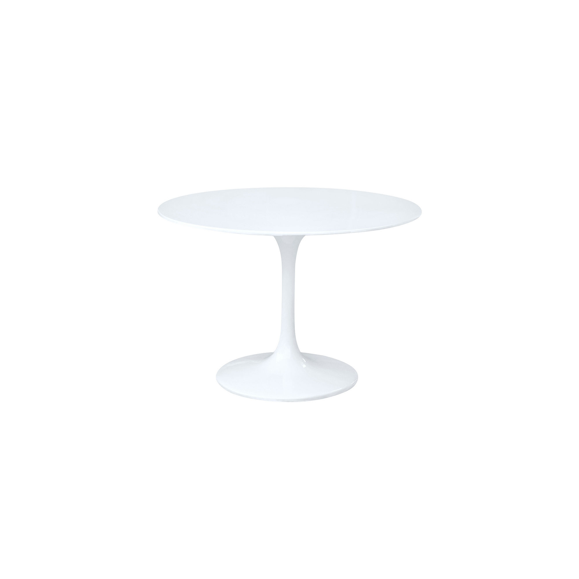 Flower Glass-Top Dining Table
