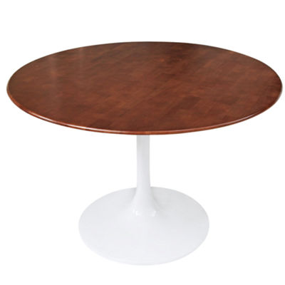 Flower Wood-Top Dining Table