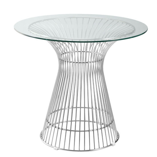 Libo Glass-Top Dining Table