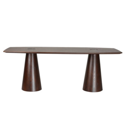 Orchard Wood-Top Dining Table