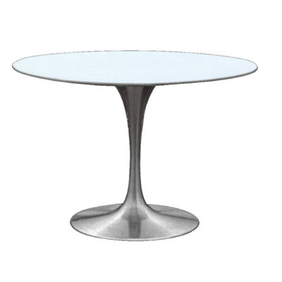 Silverado Glass-Top Dining Table