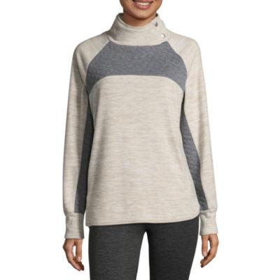 St. John's Bay Active Long Sleeve Sweatshirt