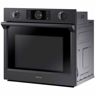 "Samsung 30"" Smart Wi-Fi Enabled Single Wall Oven with Flex Duo™"