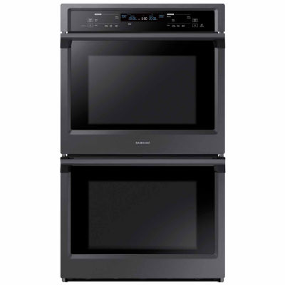 "Samsung 30"" Smart Wi-Fi Enabled Double Wall Oven with Steam Cooking"