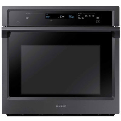 "Samsung 30"" Single Wall Oven with Steam Cooking"