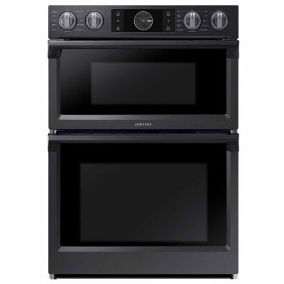 """Samsung 30"""" Smart Wi-Fi Enabled Microwave Combination Wall Oven with Flex Duo™"""