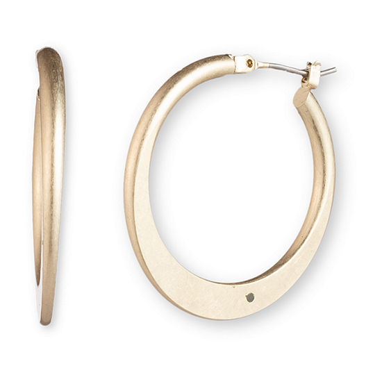 Chaps 1 Pair Hoop Earrings