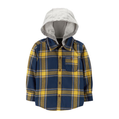 Carter's Hooded Button Front - Toddler Boy