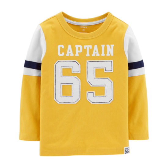 Carter's Long Sleeve Graphic Tee - Toddler Boy