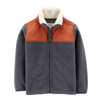 Carter's Two Tone Zip-Up Jacket - Toddler Boys