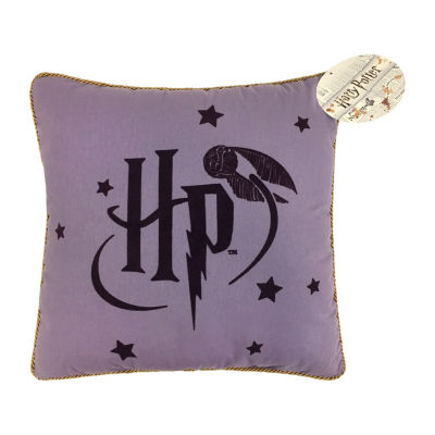 Harry Potter Whimsal Witch Square Throw Pillow