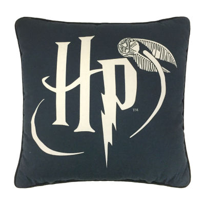 Harry Potter Draco Dormiens Square Throw Pillow