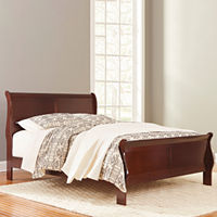 Deals on Signature Design by Ashley Ramsay Sleigh Bed