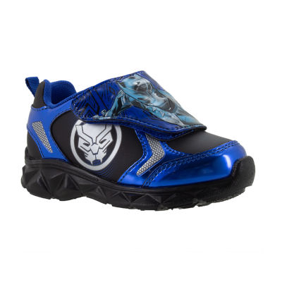 Black Panther Light-up Athletic Boys Hook & Loop Sneakers- Toddler