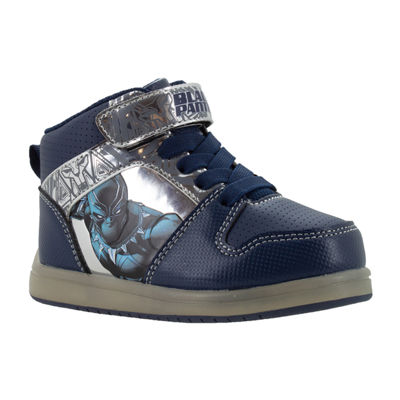 Black Panther Light-up Hi Boys Hook and Loop Sneakers- Toddler